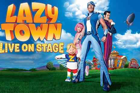 MEI Theatrical - Lazytown Live on Stage, 28 July To 4 September, Multiple Locations - Save 50%