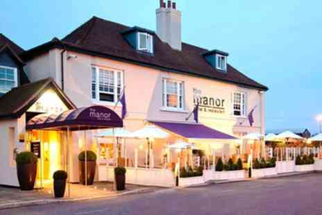 The Manor Hotel - One or Two Nights Stay For Two with Breakfast and Option for Dinner - Save 0%