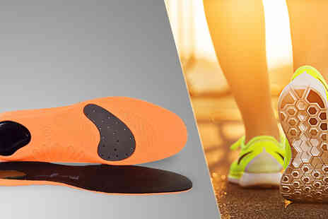 Sole Control - Tech Sport Insoles One Or Two Pairs - Save 61%