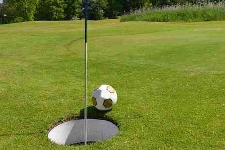 Tapton Park Golf Course - Game of footgolf for four - Save 50%