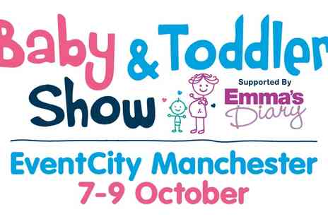 Baby and Toddler Show - Day Ticket for One to Baby and Toddler Show 7 to 9 October - Save 38%