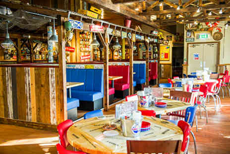 Bubba Gump - Three Course Meal for Two - Save 0%