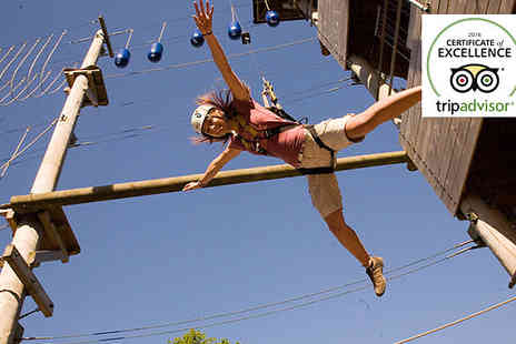 Aerial Extreme - Outdoor Aerial Extreme Adventure Course - Save 42%