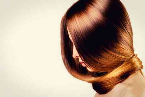 Da Silva Hair and Beauty Salon - Brazilian Blow Dry or Brazilian Keratin Blow Dry - Save 28%