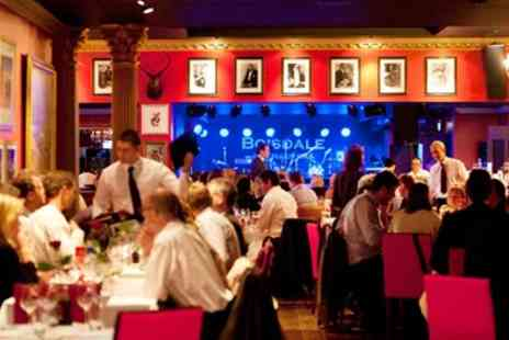 Boisdale of Canary Wharf - Three Course Dinner & Live Jazz - Save 54%