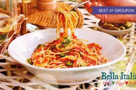 Bella Italia - Two or Three-Course Meal with Drinks for Up to Six - Save 52%