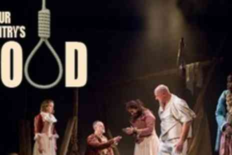 artsdepot - Theatre Tickets to Our Countrys Good For Two People With Drink Each - Save 58%