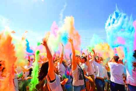 Ready Steady Glow - Holi Colour Festival Party Day or Weekend Ticket with Optional T Shirt or Colour Bag, 3 To 4 September - Save 78%