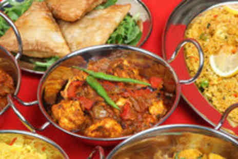 Indian Star in Fulham - Two course Indian meal inc. starters, mains, rice, naan, wine or beer each & Indian tea - Save 56%