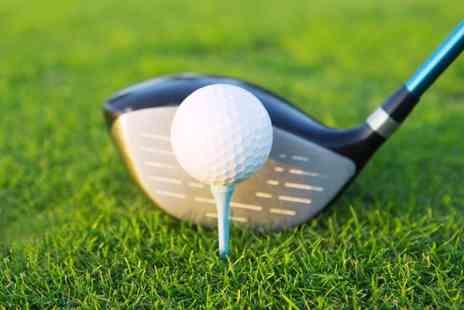 The Golf Plaza - 30 Minute Golf Practice and 30 or 60 Minute Golf Lesson - Save 64%