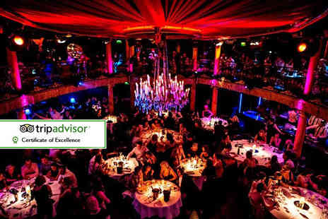 Cafe De Paris - Saturday cabaret experience including a two course meal and club entry - Save 35%
