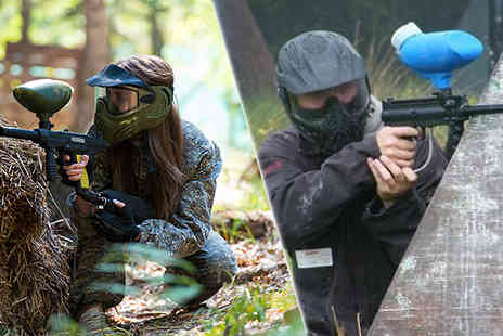 Bedlam Paintball - 7 Hour Group Paintballing 103 Nationwide Venues - Save 0%