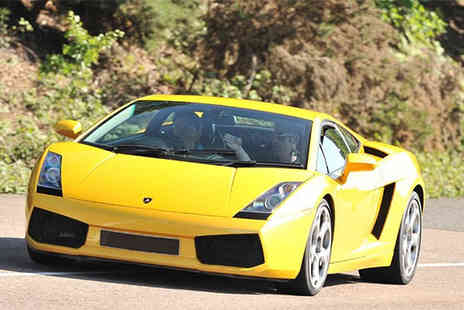Buyagift - Lamborghini supercar driving thrill experience with a high speed passenger ride at 20 UK locations - Save 0%