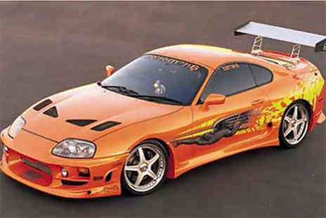 Car Chase Heroes - One hour Fast and Furious Toyota Supra driving experience - Save 41%