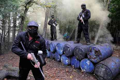 Bedlam Paintball - Paintball for Up to 30 People - Save 90%