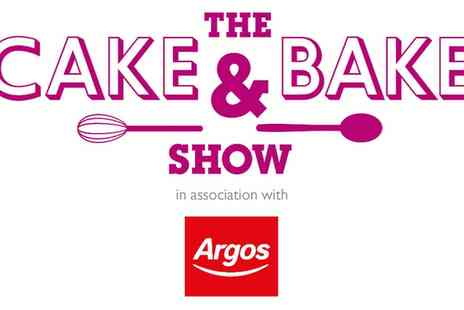 The Cake & Bake Show - The Cake & Bake Show on 7 October to 13 November - Save 25%