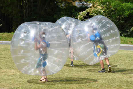 Zorb Wars - 90 minutes of Zorbing with full use of the sumo wrestling area for up to 10 - Save 42%