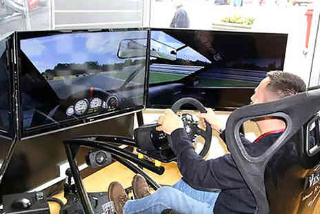 RACE HUB - 30 Minute Driving Simulator Experience For 1, 3 or 6 People - Save 0%