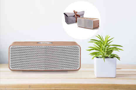Hanaco - LG P5 Wood Bluetooth speaker - Save 27%