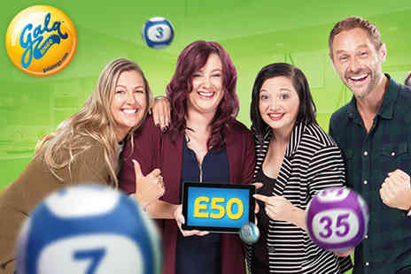 Gala Interactive - £45 Gala Bingo credit to spend online - Save 96%