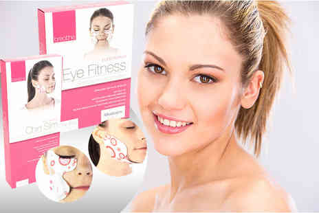 Internet Shop UK - Pack of two revitalizing eye and chin massagers - Save 71%