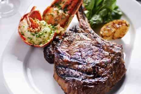 Boisdale of Bishopsgate - Steak and Lobster Dinner with Live Jazz Music for One or Two - Save 46%