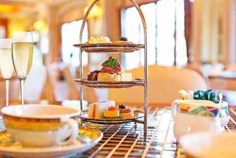 The Colonnade - Afternoon Tea with Optional Champagne for Two or Four - Save 0%