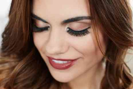 Eyves Beauty Lounge - Semi Permanent Individual Clusters Eyelash Extensions with One Infill - Save 0%