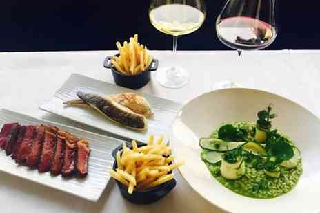RESTAURANT MICHAEL NADRA - Rosette Steak Meal and Wine - Save 0%