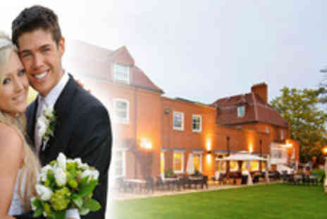 Pinewood Hotel - 50 guest wedding and 75 guest reception including wine and a 3 course meal - Save 55%
