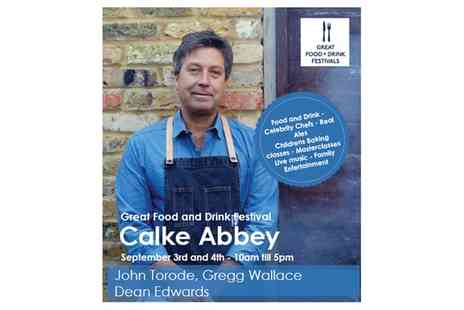 Andrew Whyles - Calke Abbey Food and Drink Festival Entry for One, Two or Four, 3 To 4 September - Save 17%