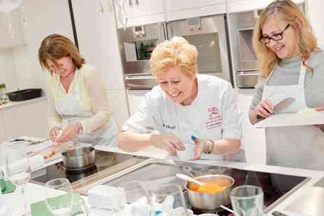 The Smart School of Cookery - Afternoon Tea with Live Cooking Demonstration for Two - Save 58%