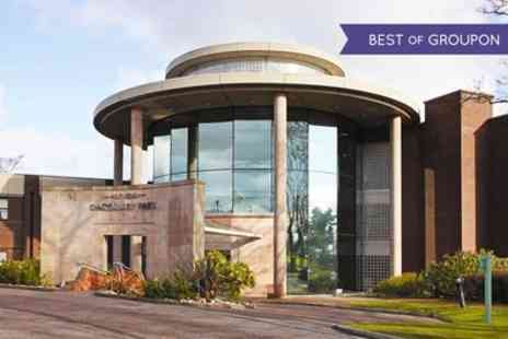 Daresbury Park - One Night Stay for 2 with Breakfast, Dinner, Wine and Leisure Access - Save 0%