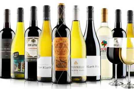 Virgin Wines Online - 12 Bottles of Wine And Free Glasses - Save 60%