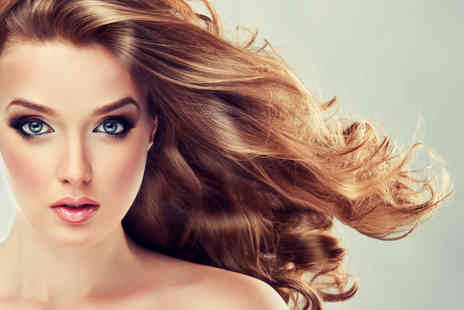 London Ladies Hair - Brazilian keratin blow dry including chocolates - Save 68%