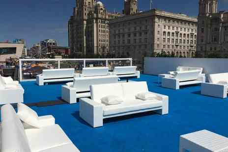 Bubbles Champagne Bar - VIP roof terrace experience including a flute of bubbly on arrival - Save 80%