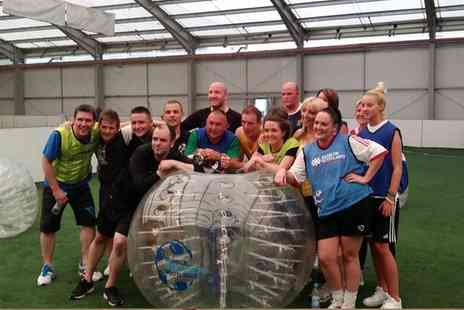 Bubble Soccer - Bubble Football Experience for Up to 16 at Bubble Soccer Scotland - Save 53%