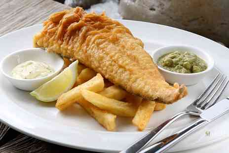 Loch Fyne Seafood & Grill - Fish and Chips for Two or Four with Optional Prosecco - Save 33%