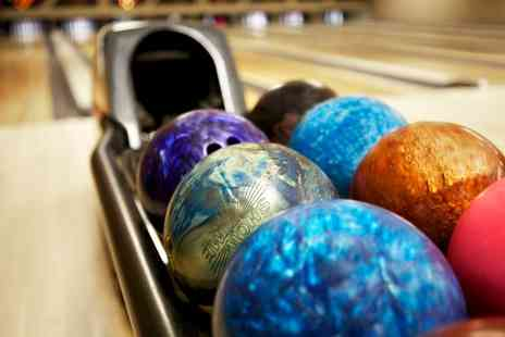 The Bowl Bromborough - Three Hours of Bowling with Pizza for Four or Six - Save 73%