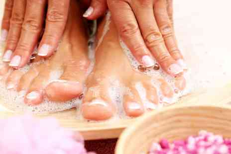 Eyves Beauty Lounge - Manicure, Pedicure or Both - Save 60%
