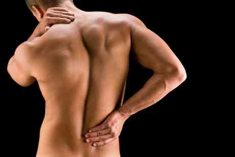 Shield Clinic - Back Pain Analysis with Scans and Two Individual Treatments - Save 85%