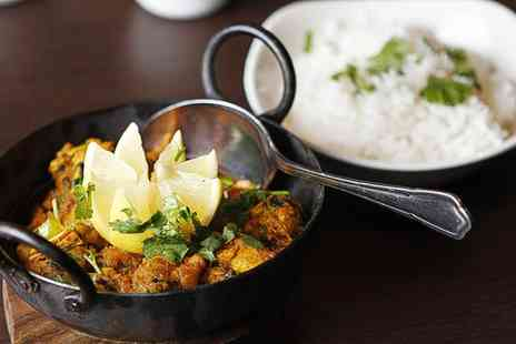 Jumaira Spice - Two Course Indian Meal for Two or Four - Save 55%