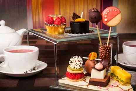 London Hilton - Chocolate Afternoon Tea for Two with an Optional Glass of Champagne - Save 45%