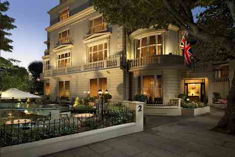 The Colonnade Hotel - Four Star overnight London stay for two people with breakfast or include a sparkling afternoon tea - Save 39%