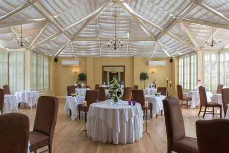 Hadley Park House Hotel - Two or Three Course Lunch with Wine for Two or Four - Save 51%
