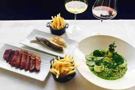 Restaurant Michael Nadra - 2AA Rosette Steak Meal and Wine - Save 0%