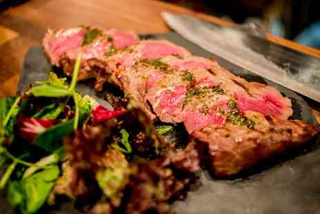 2k Steak House - Two Course Dinner with a Glass of Prosecco for Two or Four - Save 48%