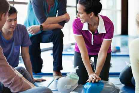 One Day Courses - One Day First Aid or Two Day Paediatric First Air Course with Certificate - Save 66%