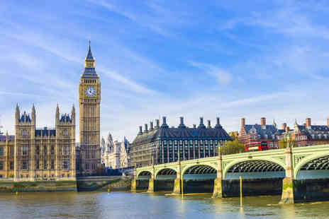 Classic City Tours - 90 minute open top bus tour of London or with a glass of Champagne - Save 0%