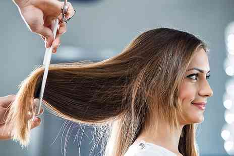 Cutting Crew - Wash, Cut and Blow Dry with an optional Conditioning Treatment - Save 38%